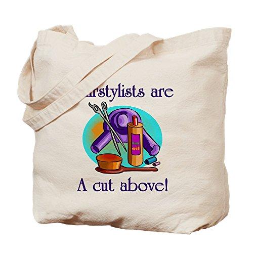 CafePress Beautician Natural Canvas Tote Bag, Cloth Shopping Bag