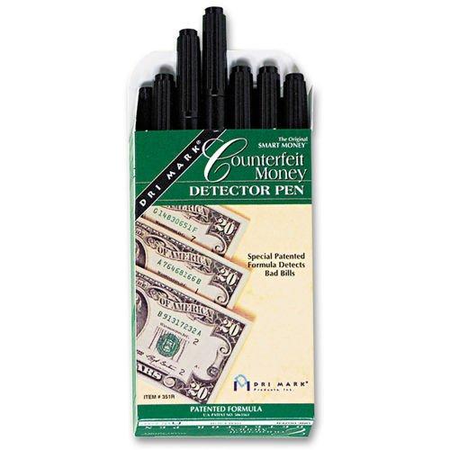 Dri Mark Counterfeit Bill Detector Pen 12ct DRI 351R1