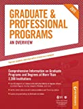 Graduate and Professional Programs, Peterson's, 0768928524