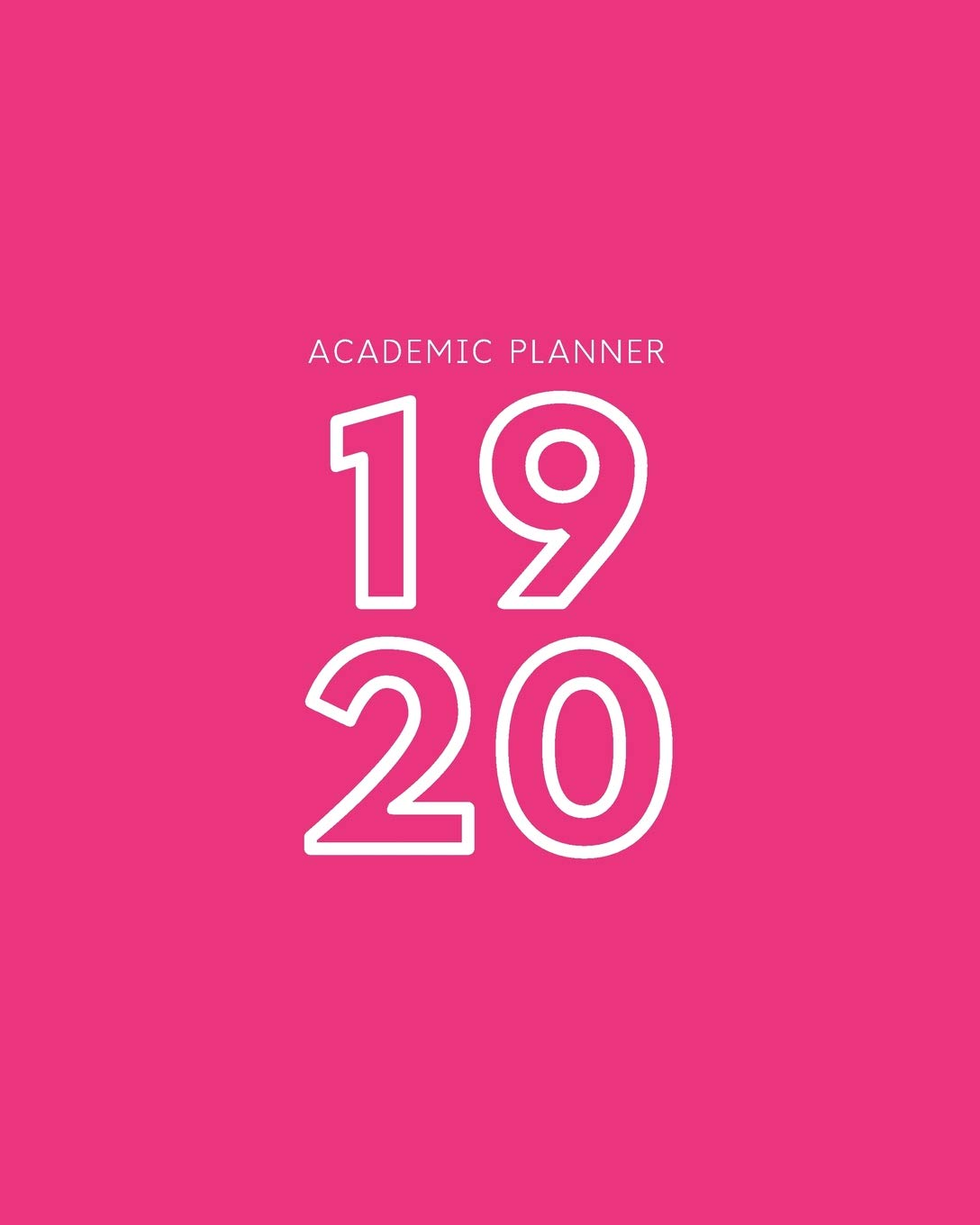 19 20: Weekly and Monthly Academic Calendar/Agenda July 2019 ...