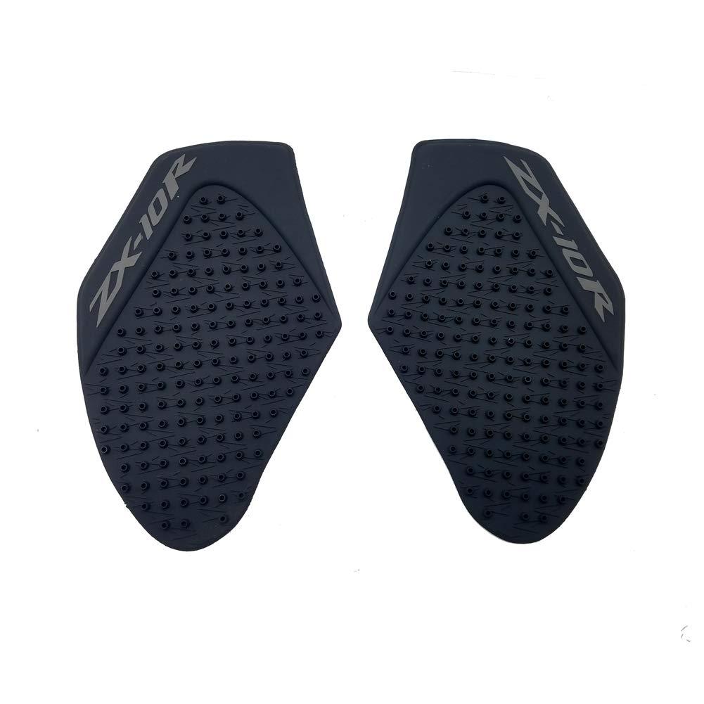 Black Rubber 3D Dots Gas Fuel Tank Traction Pad Anti Side Slip Protector for Kawasaki Ninja ZX10R 2011-2014 PM-20011