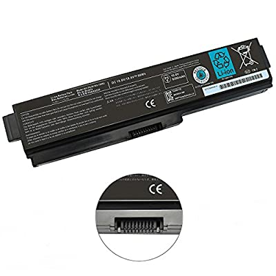 NOCCI 12-Cell New Li-ion Laptop Battery for Toshiba PA3819U-1BRS PA3817U-1BRS Satellite A665 A665-S5170 A665-S6050 A665-S6086 M505-S4940 M645-S4050 M645-S4070 L645 L755-S5277 L775D-S7222 P745-S4102 from Nocci
