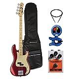 Dean Guitars PACGTSPARAMNTMM Paramount Bass Power Pack, Metallic Red