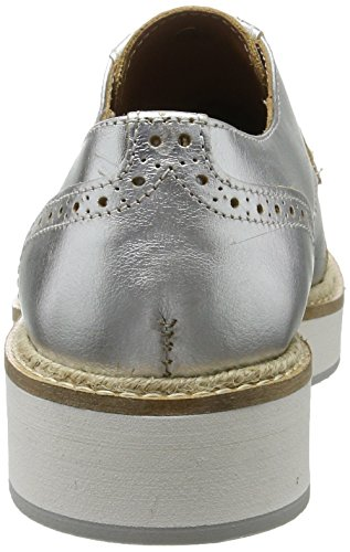 Passport Femme Silber Derby Cap Toe British PdqvAA