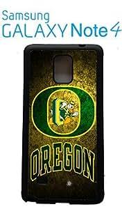 University of Oregon Ducks Samsung Galaxy Note 4 Case Hard Silicone Case
