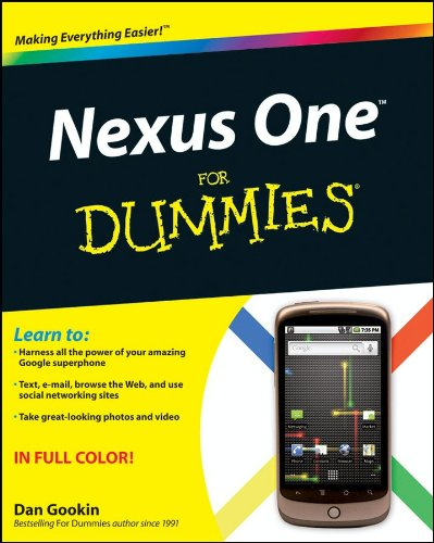 [PDF] Nexus One For Dummies Free Download | Publisher : For Dummies | Category : Computers & Internet | ISBN 10 : B0041OTA16 | ISBN 13 : 9780470912775