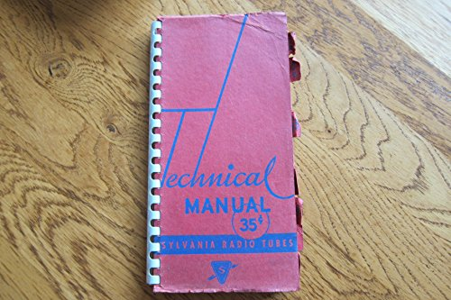 Technical Manual Sylvania Radio Tubes 1943 Fifth Edition