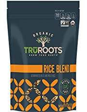 Truroots Germinated Brown Rice Trio, Organic, 8-Ounce