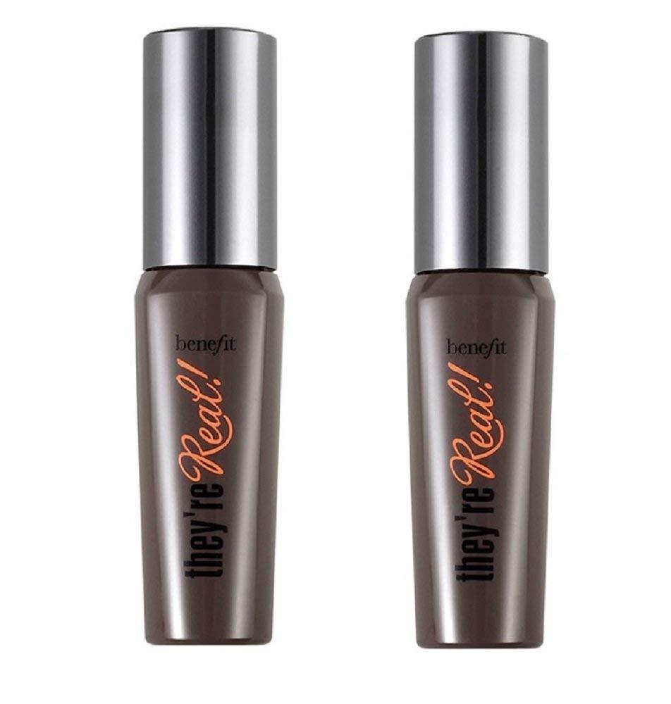 f0fa8c41859 Amazon.com : Benefit Cosmetics They're Real! Tinted Lash Primer & Mascara  Duo, 0.14oz x 2 : Beauty
