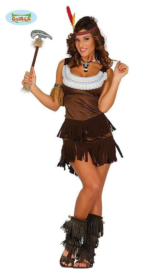 Indiana 8821 Vestito Donna Carnevale Sexy Guirca Costume j3S5c4ARLq