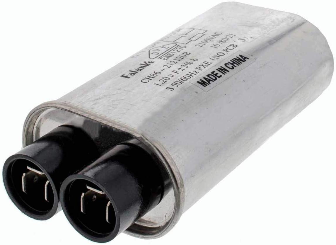 Recamania Condensador Trabajo microondas Standard 1,20MF 2100V