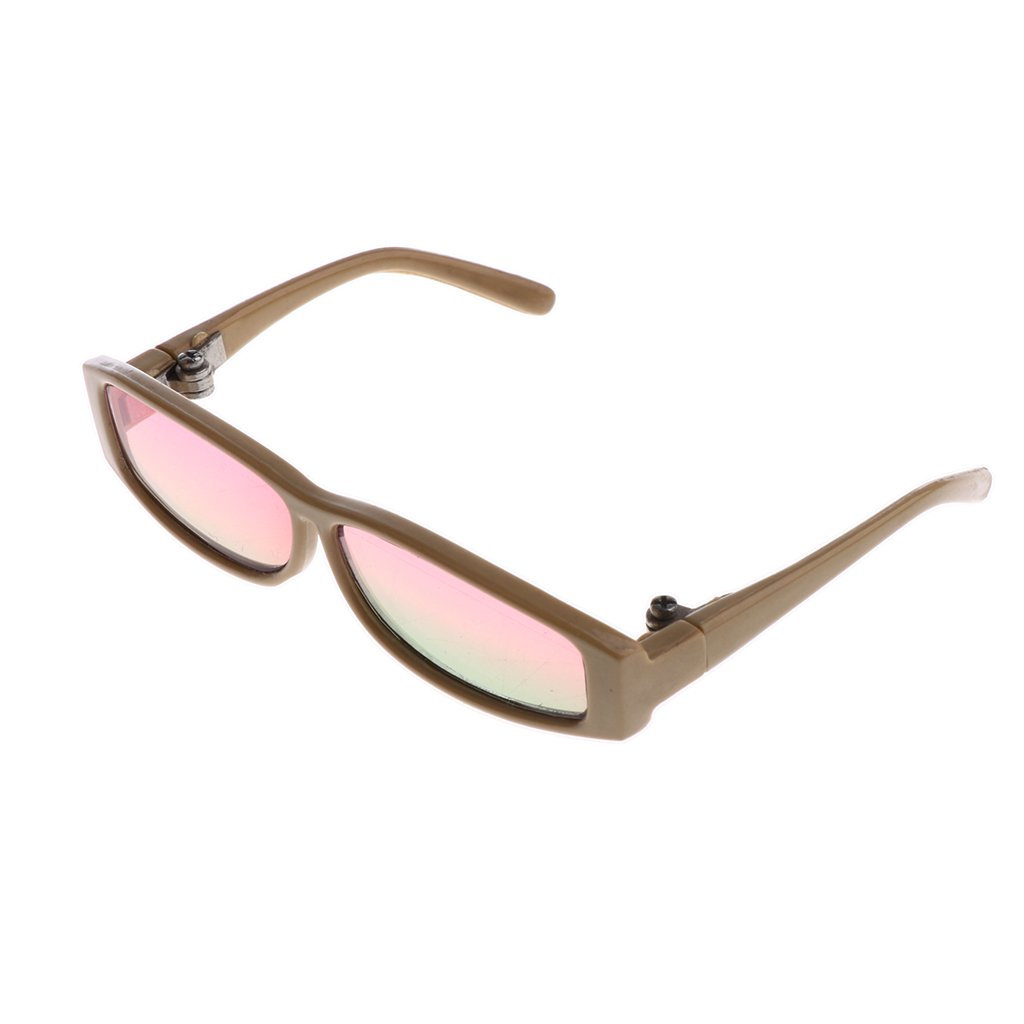 6251030925 Amazon.com  MonkeyJack 1 3 BJD Dolls Gradient Color Glasses Beige Frame  Eyewear for MSD DOD SD Full Size Dress Up Kids Role Play Pink Green  Toys    Games