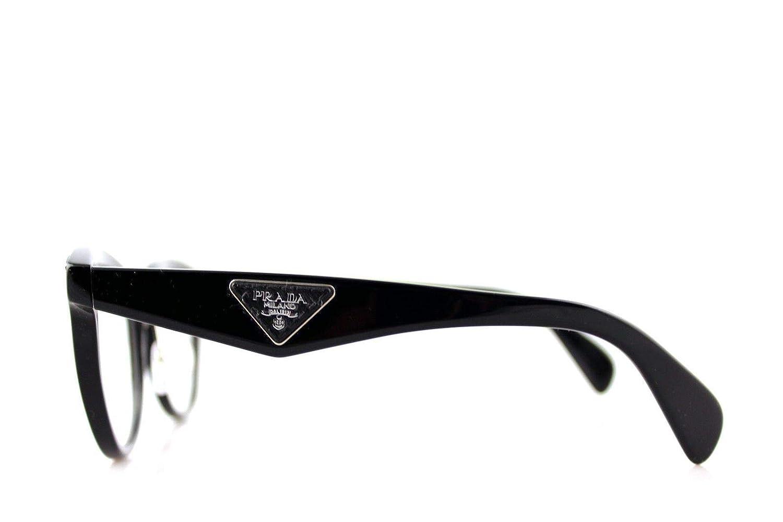 e895c59bf2 Prada ORNATE PR26SV Eyeglass Frames 1AB1O1-51 - Black PR26SV-1AB1O1-51 at  Amazon Men s Clothing store