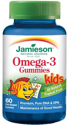 Jamieson Omega-3 gummies enfants,