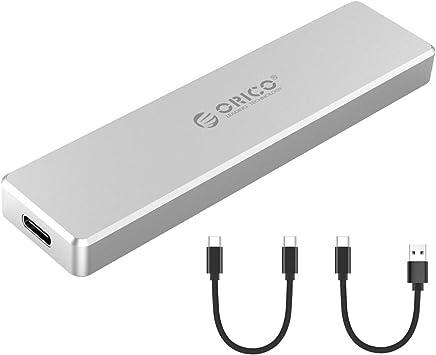 ORICO Aluminio M.2 NVMe SSD, Ultra-Slim M-Key a USB3.1 Gen2 Tipo-C ...