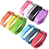 "XCSOURCE® 10PCS Replacement Wrist Band Wristband Strap for Fitbit Flex w/ Clasps No Tracker (size: 5.5"" - 6.9"") TH065"