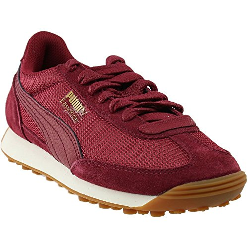 PUMA Women's Easy Rider Mesh Wn, Tibetan Red-Tibetan Red, 7 M US