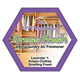 Live Free & Safe Air Freshener | Natural Ingredients | Controlled Release Technology | Eliminate Odors | Made in the USA (Dress Fresh, 5-Pack)