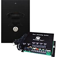 DoorBell Fon DP38 Door Answering System, M&S Mount, Black (DP38-BKM)
