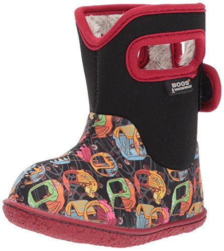 Bogs Baby Classic Penguins Winter Snow Boot Kiddy Cars Black Multi