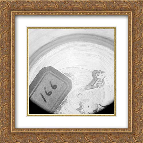 - Jacques-Malquis Le Quin - 20x20 Gold Ornate Frame and Double Matted Museum Art Print - Pomade Jars