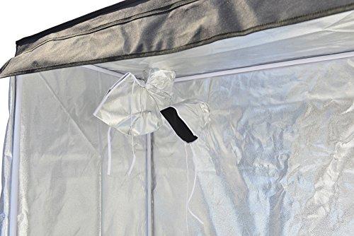 """516xLsAlpWL - Smart Indoor Grow Tent 43""""x25""""x48"""" 600D Heavy Duty High Mylar Waterproof Grow Room for Indoor Plant Growing 4'x4'"""