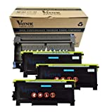 (1 Drum + 3 Toner) V4INK ® New Compatible Brother Dr350 + 3 X Tn350 Compatible Drum Unit and Toner Cartridge, Office Central
