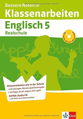 Bessere Noten in Klassenarbeiten Englisch. 5. Klasse Realschule
