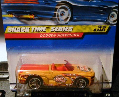 ピンチ貪欲真鍮ホットWheels Snack Timeシリーズ4 / 4 Dodge Sidewinder