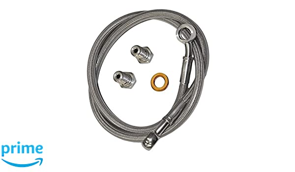 Amazon.com: Yana Shiki USA MSF9628 Front Brake Line- Yamaha Fz6 2002-2006,1 Pack: Automotive