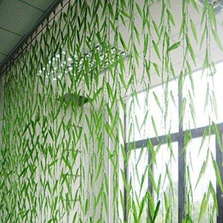 Techinal 1Pcs Artificial Silk Flower Vine Leaf Plant Foliage Rattan Wedding Home Decor