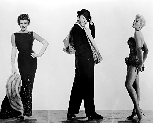 Frank Sinatra And Rita Hayworth And Marilyn Monroe In Pal Joey Sassy Poses In Costume 16X20 Canvas Giclee