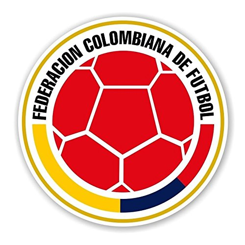 Colombia FCF Federacion Colombiana de Futbol Round Wall Art | 4 Size Decal  Sticker Die Cut Poster | Colombia FCF Federacion Colombiana de Futbol Round