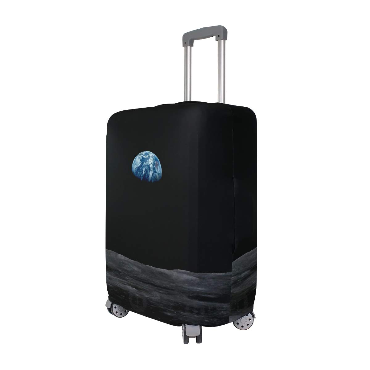 Blue Sky Marble Traveler Lightweight Rotating Luggage Cover Can Carry With You Can Expand Travel Bag Trolley Rolling Luggage Cover