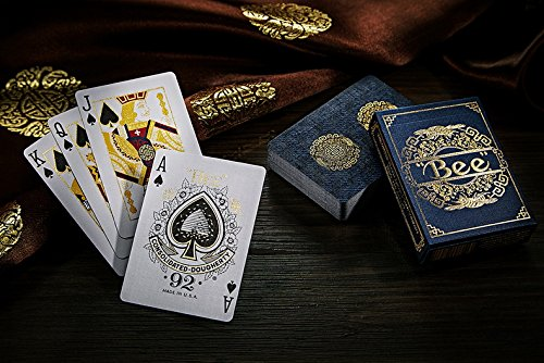 Royal Bee No 168 Playing Cards  Metaluxe Technology Foil Back Decks