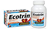 Ecotrin Low Strength, 81 mg, 1 Cardiologist Recommended, Safety Coated Aspirin-Pain Reliever, 365 Tablets