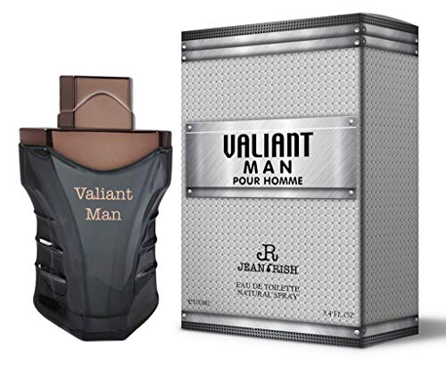 VALIANT MAN by Jean Rish 3.4 Oz for MEN EDT MADE IN USA ()