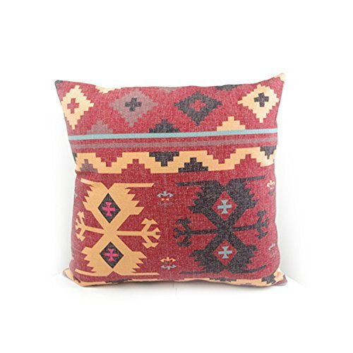 Rust Red Kilim Pillow Case Cushion Cover