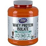 NOW Sports Creamy Chocolate Whey Protein Isolate, 5-Pound
