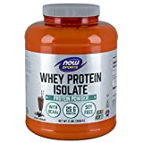 NOW Sports Whey Protein Isolate, Creamy Chocolate, 5-Pound Review