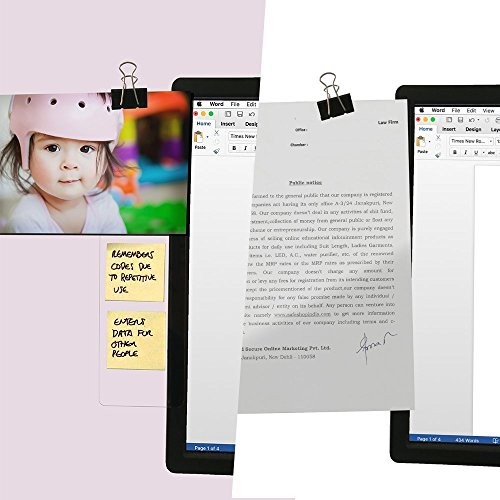 Foster Post-It Notes Memo Board Message Pad for Monitors (1 pc) - Thin Bezels OK Photo #4
