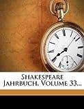 Shakespeare Jahrbuch, Deutsche Shakespeare-Gesellschaft, 1279078790