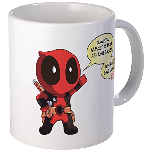 CafePress Deadpool Love Tacos Mug Unique Coffee Mug, for sale  Delivered anywhere in USA
