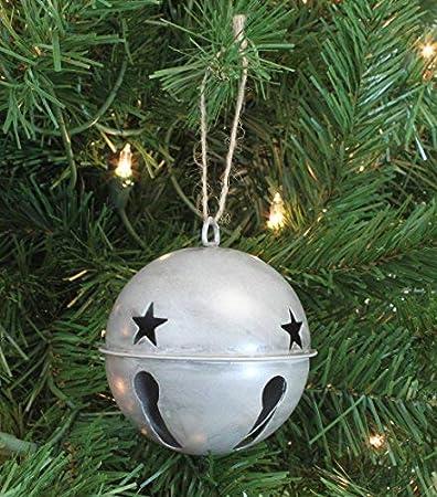 Tamaño surtidos Paquete de 30 Plata Jingle-Cat-Navidad-Campanas Artesanales