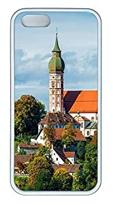 iPhone 5 5S Case Munich City 01 TPU Custom iPhone 5 5S Case Cover White