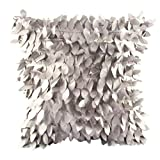 Oksale Leaves Feather Square Pillow Case Sofa Home Waist Throw Cushion Cover, 18