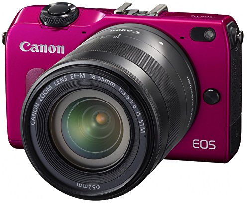 Canon EOS M2 Mirrorless Digital Camera with EF-M 18-55mm + Speedlite EX90 Flash Kit International Version (No Warranty)