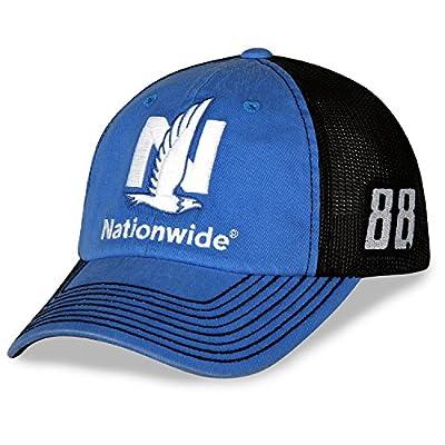 Alex Bowman #88 Nationwide Nascar 2018 Sponsor Trucker Mesh Hat / Cap by Checkered Flag Sports