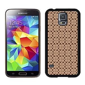 Coach 25 Black Samsung Galaxy S5 I9600 G900a G900v G900p G900t G900w Screen Phone Case Beautiful and Unique Design