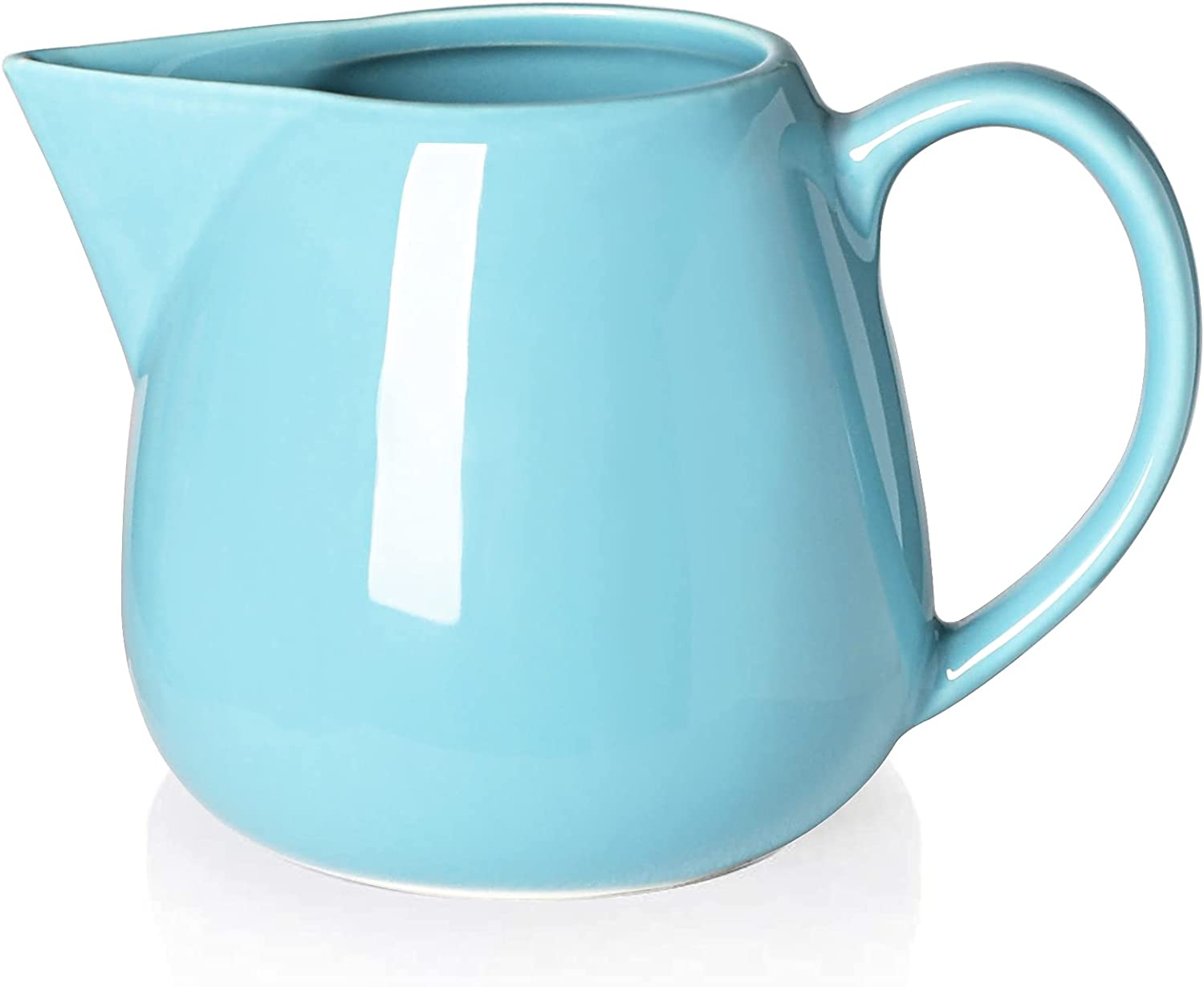 ONTUBE Ceramics Creamer Our shop OFFers the best service It is very popular Pitcher 12 Blue Cream Turquoise oz
